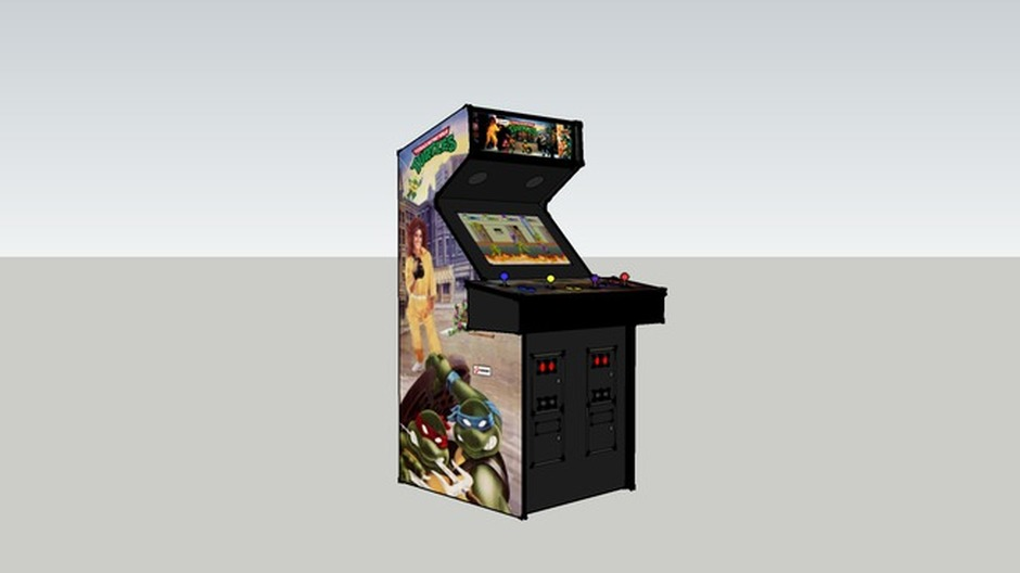 Teenage Mutant Ninja Turtles - Classic Arcade Cabinets