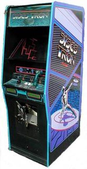 Upright Discs Of Tron Classic Arcade Cabinets